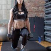 Saraya-Jade Bevis wrestling