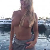 Katie Price topless