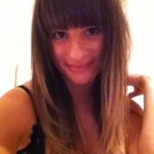 Lea Michele hacked-lingerie-selfie