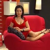 Sandra Ahrabian upskirt