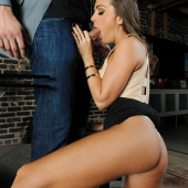 Abigail Mac blowjob