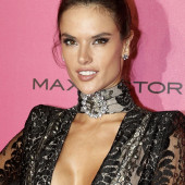 Alessandra Ambrosio braless