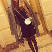 Alesya Kafelnikova selfie