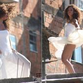 Alicia Keys upskirt