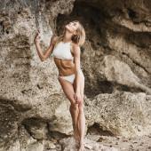 Allegra Carpenter bikini