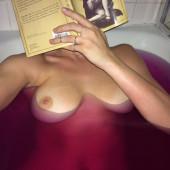 Alyson Michalka topless