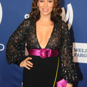 Alyssa Milano see through