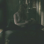 Alyssa Sutherland topless scene