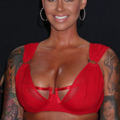 Amber Rose cleavage
