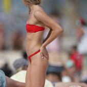 Amy Pejkovic beach