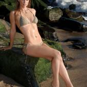 Andrea Joy Cook bikini