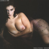 Angela Cavagna topless