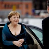 Angela Merkel ausschnitt