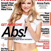 Anna Faris womens health