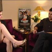 Anne Hathaway upskirt