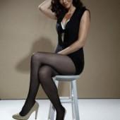 Annie Wersching stockings