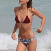 April Love Geary bikini