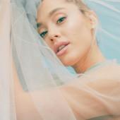Ariana Grande see through