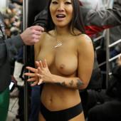 Asa Akira topless