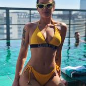 Ashley Nicolette Frangipane bikini