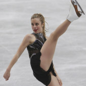 Ashley Wagner upskirt