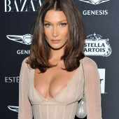 Bella Hadid cleavage