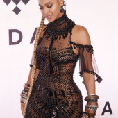 Beyonce Knowles see through