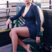 Beyonce Knowles upskirt