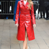 Blake Lively leather