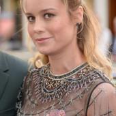 Brie Larson nip slip