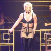 Britney Spears nip slip