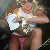 Britney Spears pantyslip