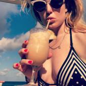 Caity Lotz bikini