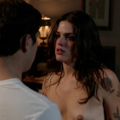 Callie Hernandez topless