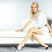Camilla Dallerup legs