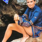 Candice Bergen feet