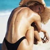 Candice Swanepoel sideboob