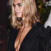 Cara Delevingne cleavage