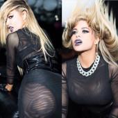 Carmen Electra see through