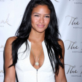 Cassie Ventura cleavage