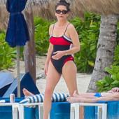 Catherine Zeta-Jones swimsuit