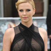 Charlize Theron see through
