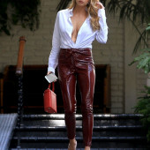 Charlotte McKinney high heels