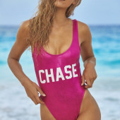 Chase Carter swimsuit