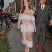 Cheryl Cole braless