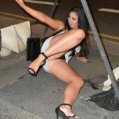 Chloe Ferry upskirt panty
