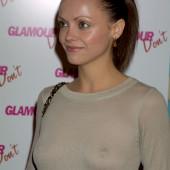 Christina Ricci braless