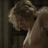 Claire Foy topless scene