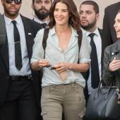 Cobie Smulders braless