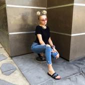 Corinna Kopf feet
